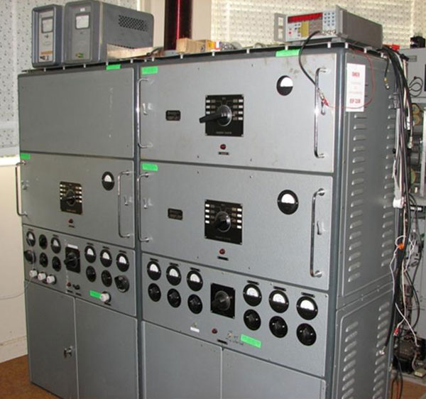 The Dansk transmitter used for 630m CW at Musick Point