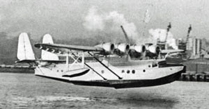 Pan-Am flying boat Samoan Clipper