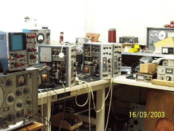 Electronics Workshop at Musick Memorial Radio Station
