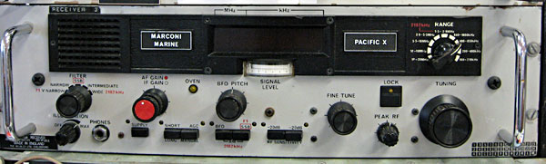 Marconi receiver at ZL1ZLD