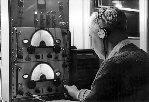Auckland Radio ZLD operator Frank Henry Bissmire