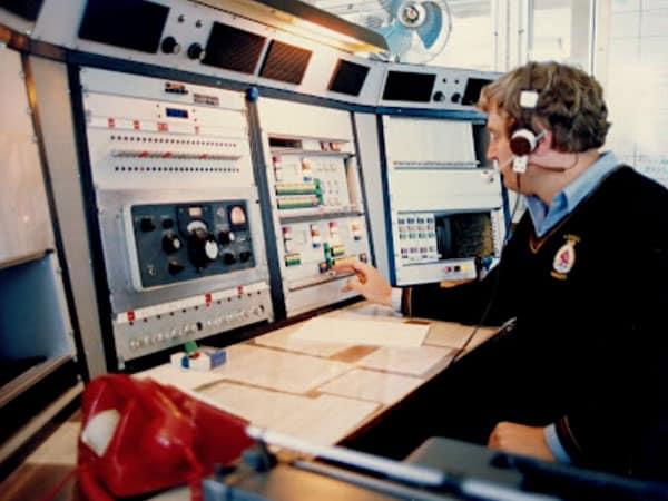 Auckland Radio ZLD operator Iggy Pak