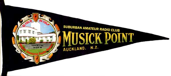 Musick Point Radio Group Pennant