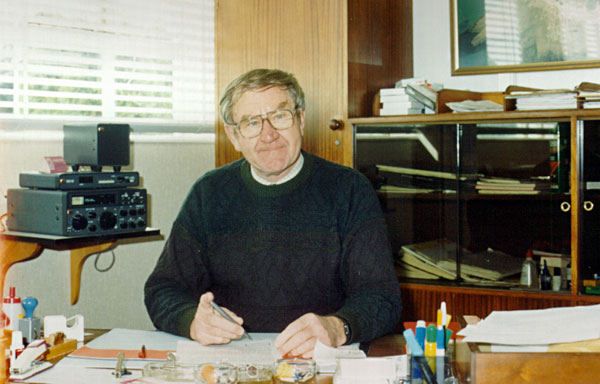 Dave Currie, Manager of Auckland Radio 15 Feb 1989 – 30 Sep 1993