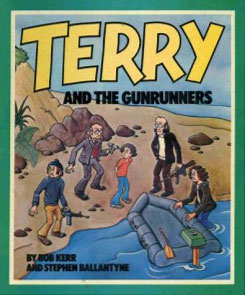 Terry and the Gunrunners comic book