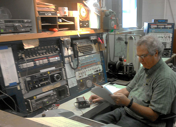 Kevin McGrath sends the special message from Musick Pt Radio Group on marine radio station KPH (formerly KSM)