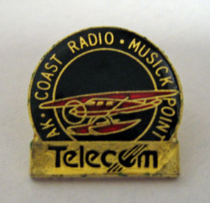 Lapel pin given to ZLD staff and other guests at the 1992 reunion