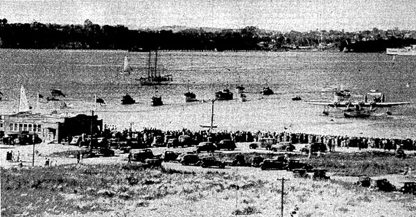 Samoan Clipper coming up to her berth in Auckland