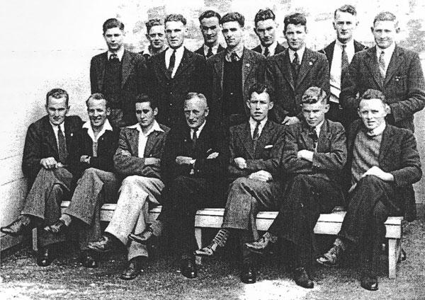 Auckland Radio staff 1947
