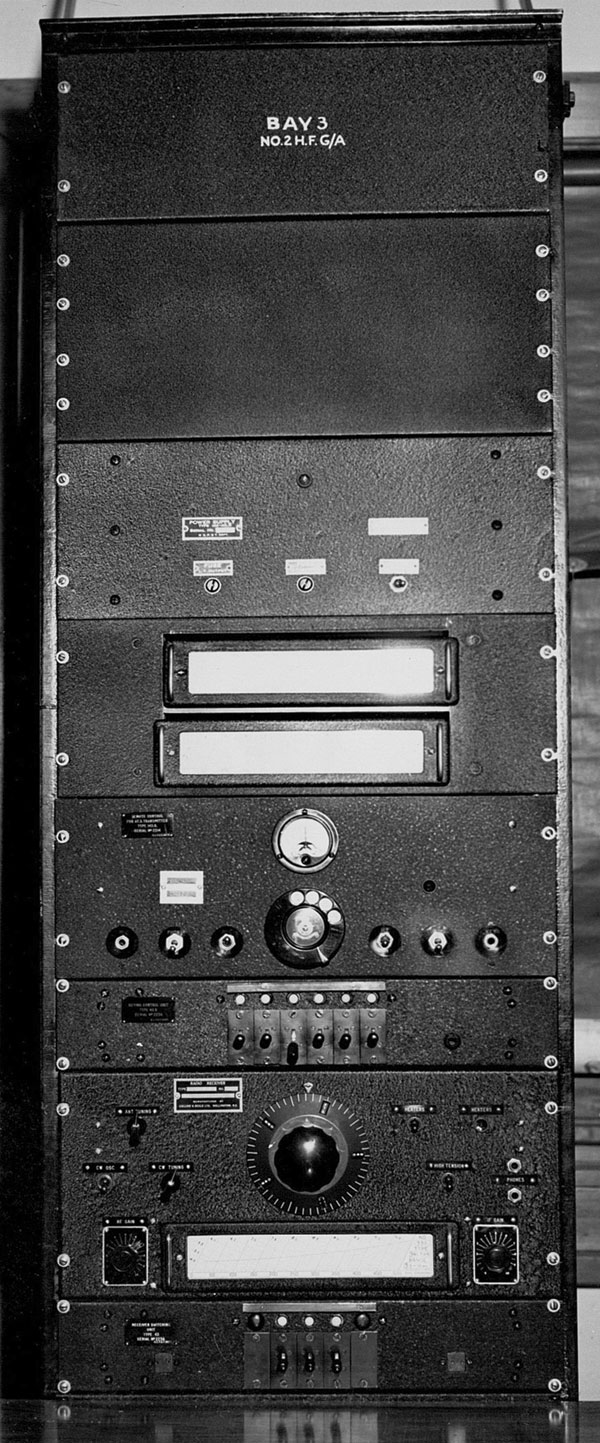 Equipment Rack 3 at Auckland Radio