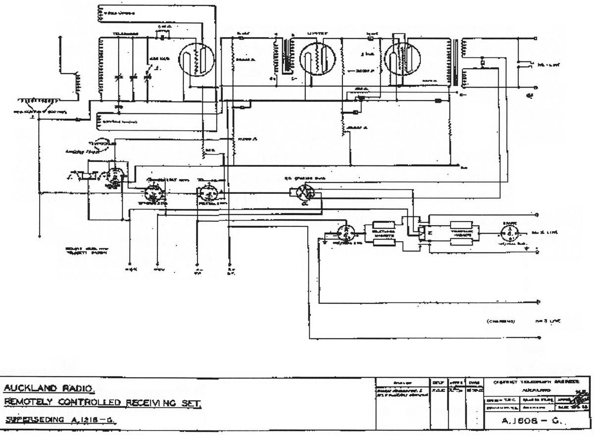 Remote receiver schematic
