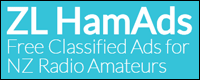 ZL Ham Ads - Free Classified Ads for NZ Radio Amateurs