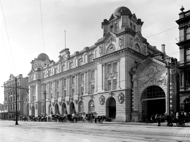 Auckland's new Chief Post Office opened in 1912