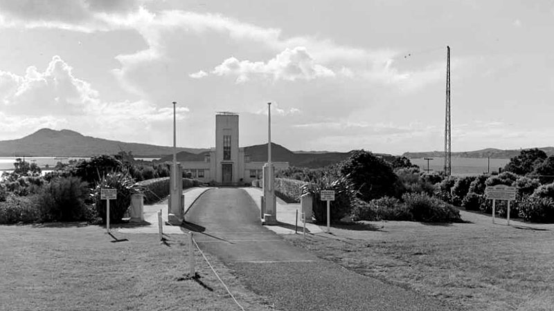 Musick Memorial Station, 10 Aug 1950