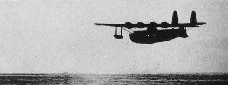 Sikorsky S42B flying boat silhouette