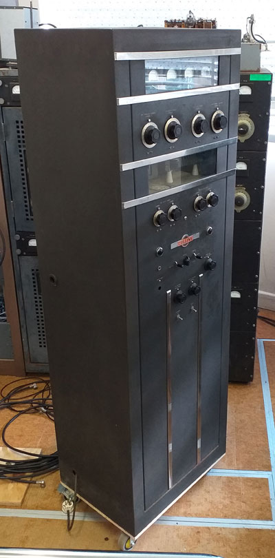 Collins 30K-5 transmitter at Musick Point Radio