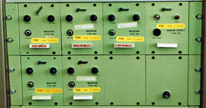 Codan 7004 fixed frequency receivers at Musick Point Radio ZL1ZLD