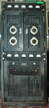 Collier and Beale 873 marine radio transmitter