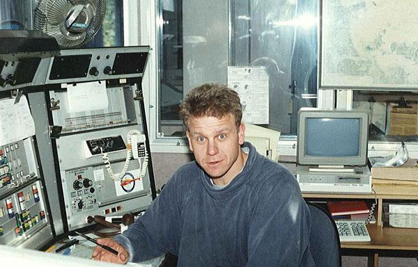 Tony Graham at Auckland Radio ZLD