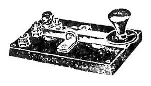 Morse telegraph key