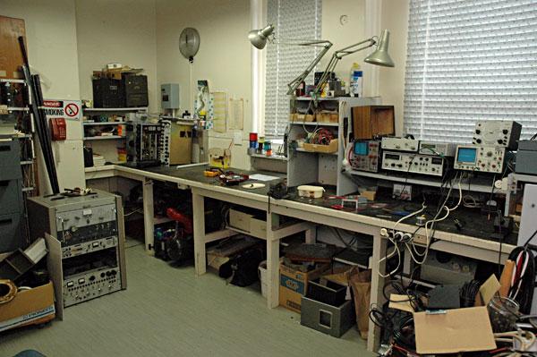 Musick Memorial Radio Station workshop