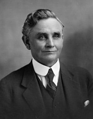 New Zealand PM Michael Joseph Savage