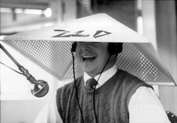 Auckland Radio ZLD operator Ray Chandler