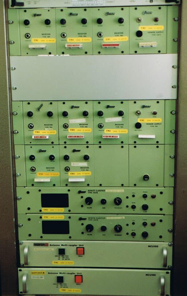 Codan 7004 HF receivers at Musick Point Radio