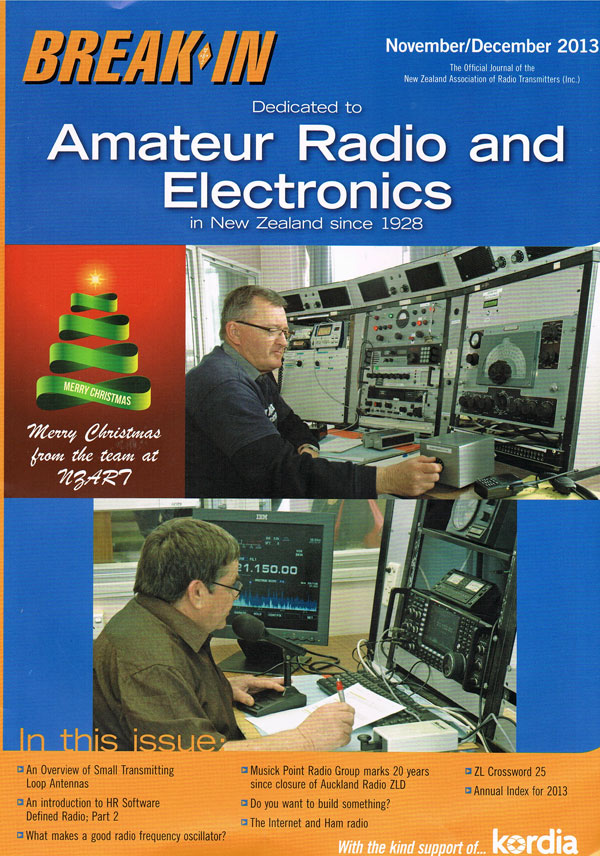 Cover of Nov-Dec 2013 issue of Break-In magazine