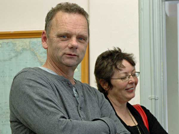 Robert Hoeksema, seen with his wife, was a chief tech at ZLD.
