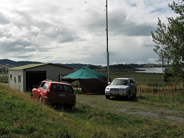Our Field Day location overlooked the mouth of the Wairoa River.