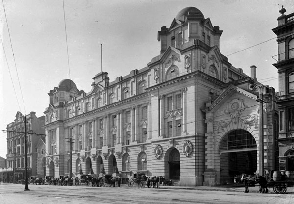 Auckland's Chief Post Office opened in 1912