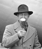 Radio 1ZB broadcaster Dudley Wrathall