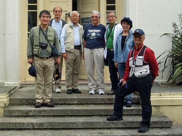 japanese radio amateurs visit Musick Point