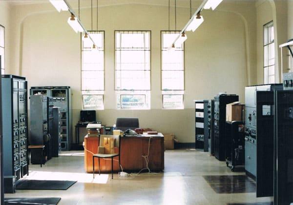 Auckland Radio transmitter hall, Oliver Road