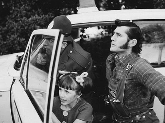 Phillip Gordon as Terry's older brother Ted and Jennifer Duke as sister Polly with David Pringle as Sergeant Wadsworth