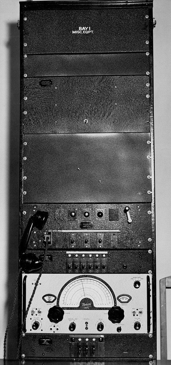 Equipment Rack 1 at Auckland Radio