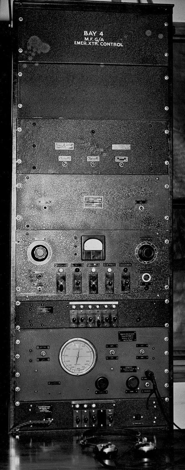 Equipment Rack 4 at Auckland Radio