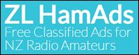 ZL Ham Ads free classified ads for NZ radio amateurs