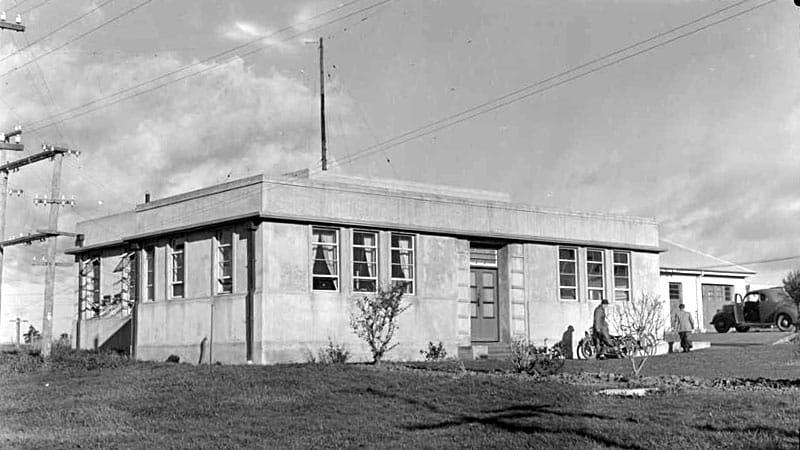 Auckland Radio transmitter building