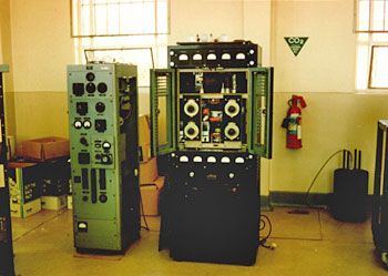 RCA 351 and C&B 873 transmitters
