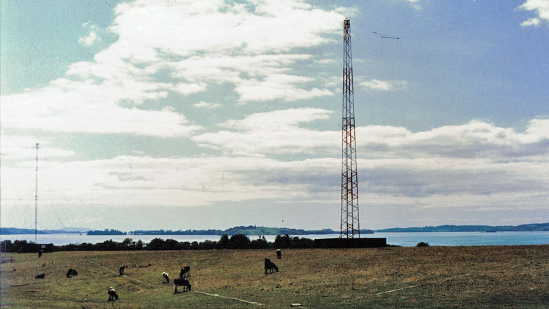 Auckland Radio ZLD transmitter site in Oliver Rd