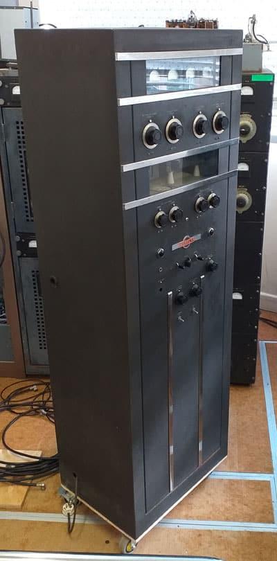 Collins 30K-5 transmitter at Musick Point Radio