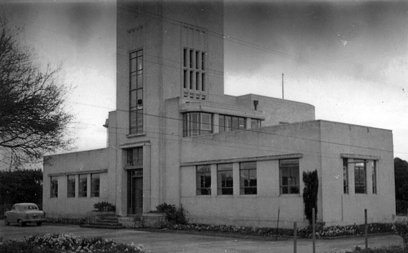 Musick Memorial Radio Station in the 1960s