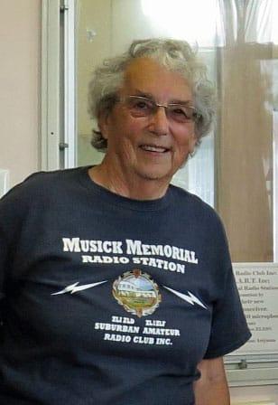Ann Walker at Musick Point in 2016